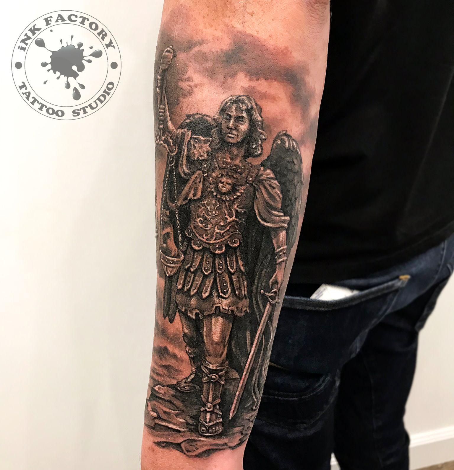 фото тату Скандинавский стиль в тату 545