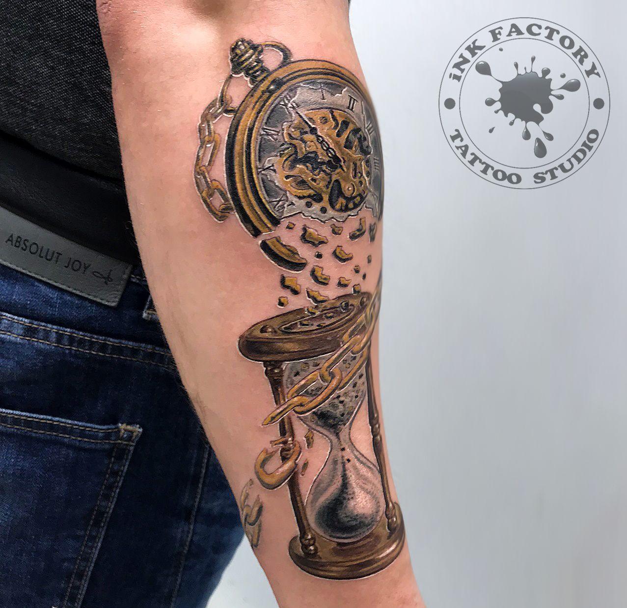 Часы и время - сделано в InkFactory