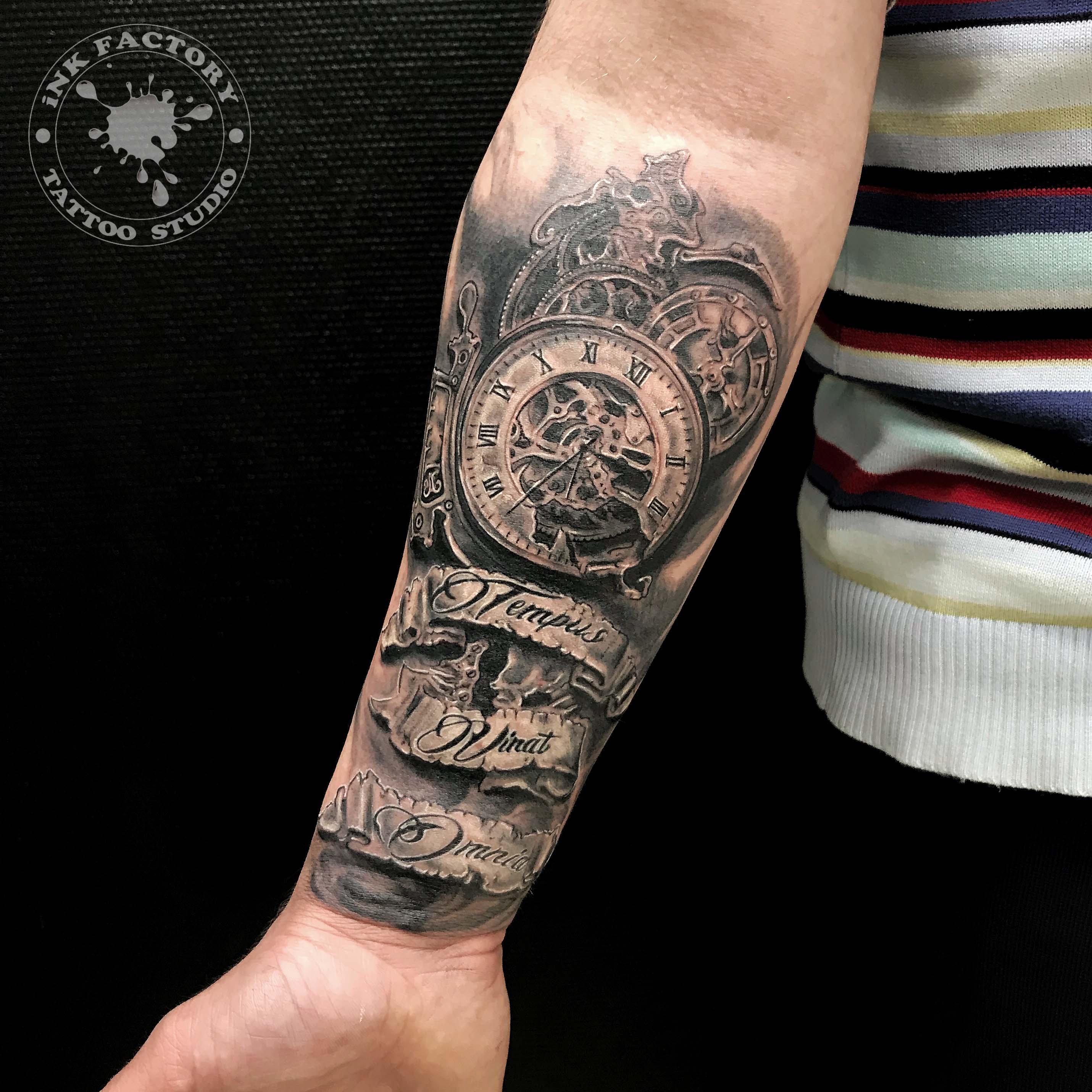 фото тату Эскиз тату в античном стиле 1046
