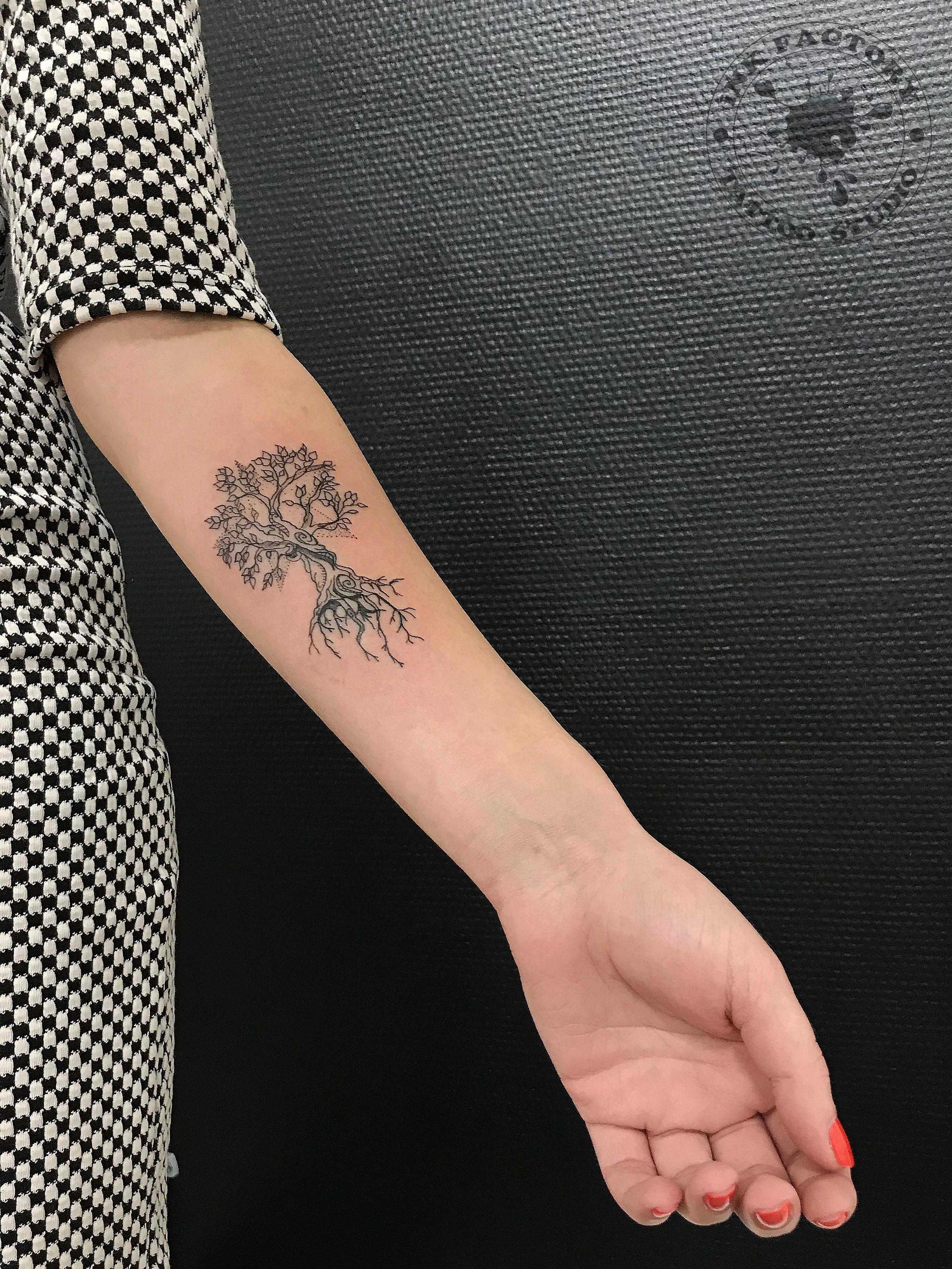 Дерево - сделано в InkFactory
