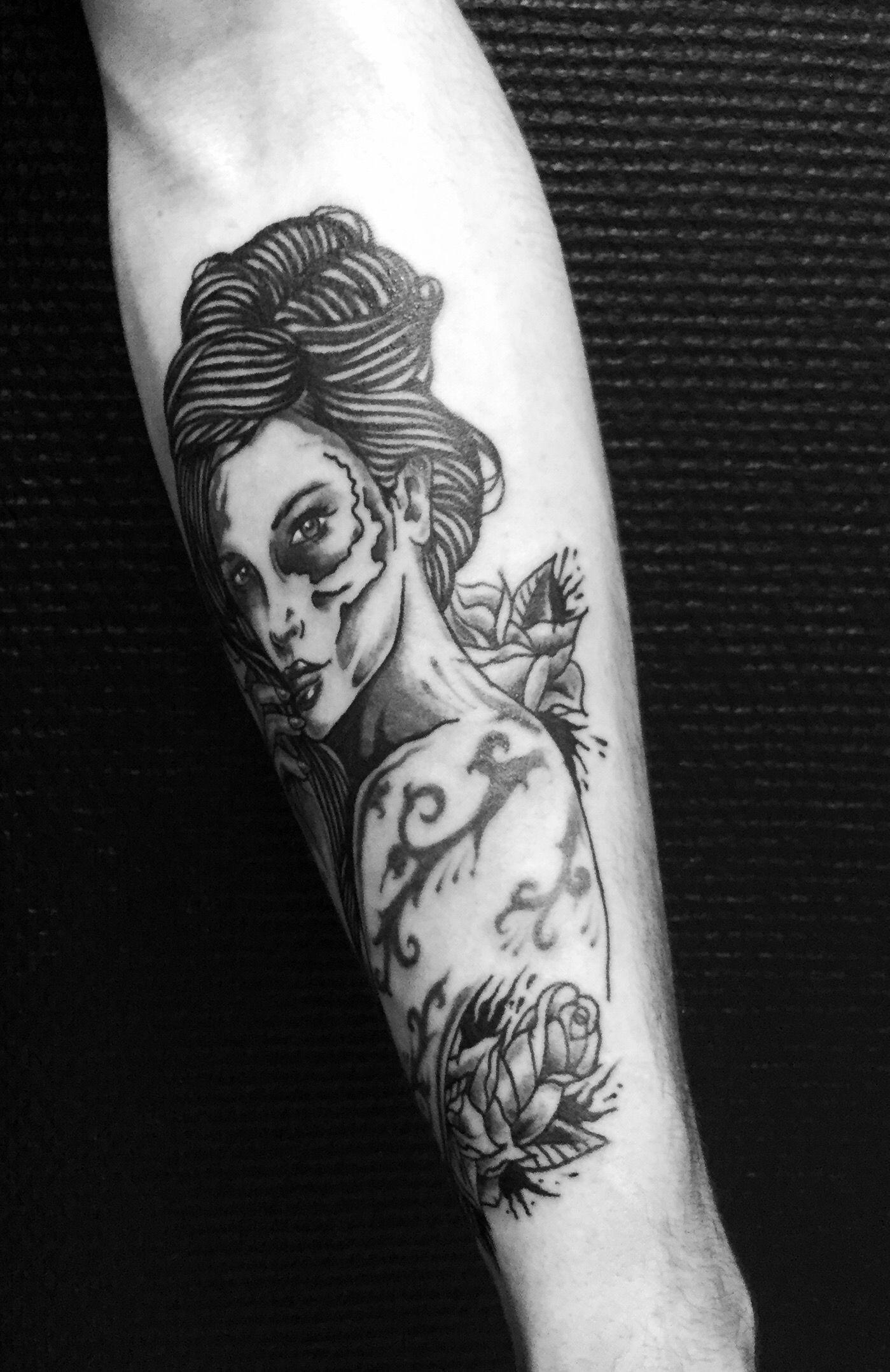 Девочка Чикано - сделано в InkFactory