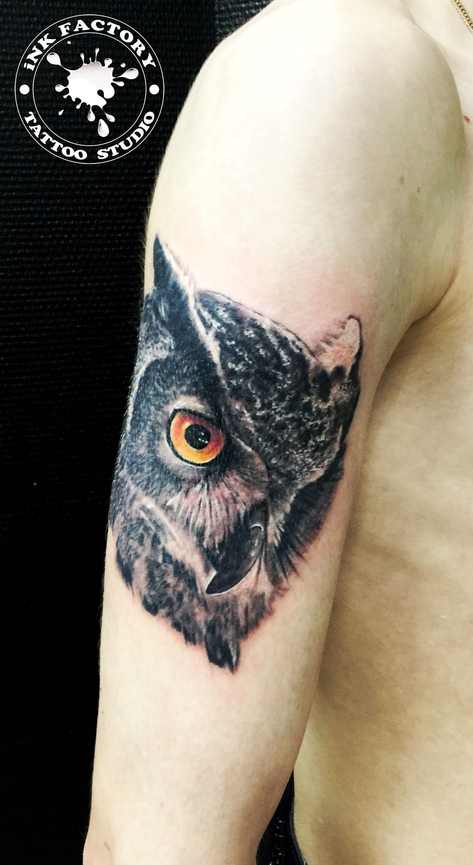 фото тату Волк в славянском стиле тату 344
