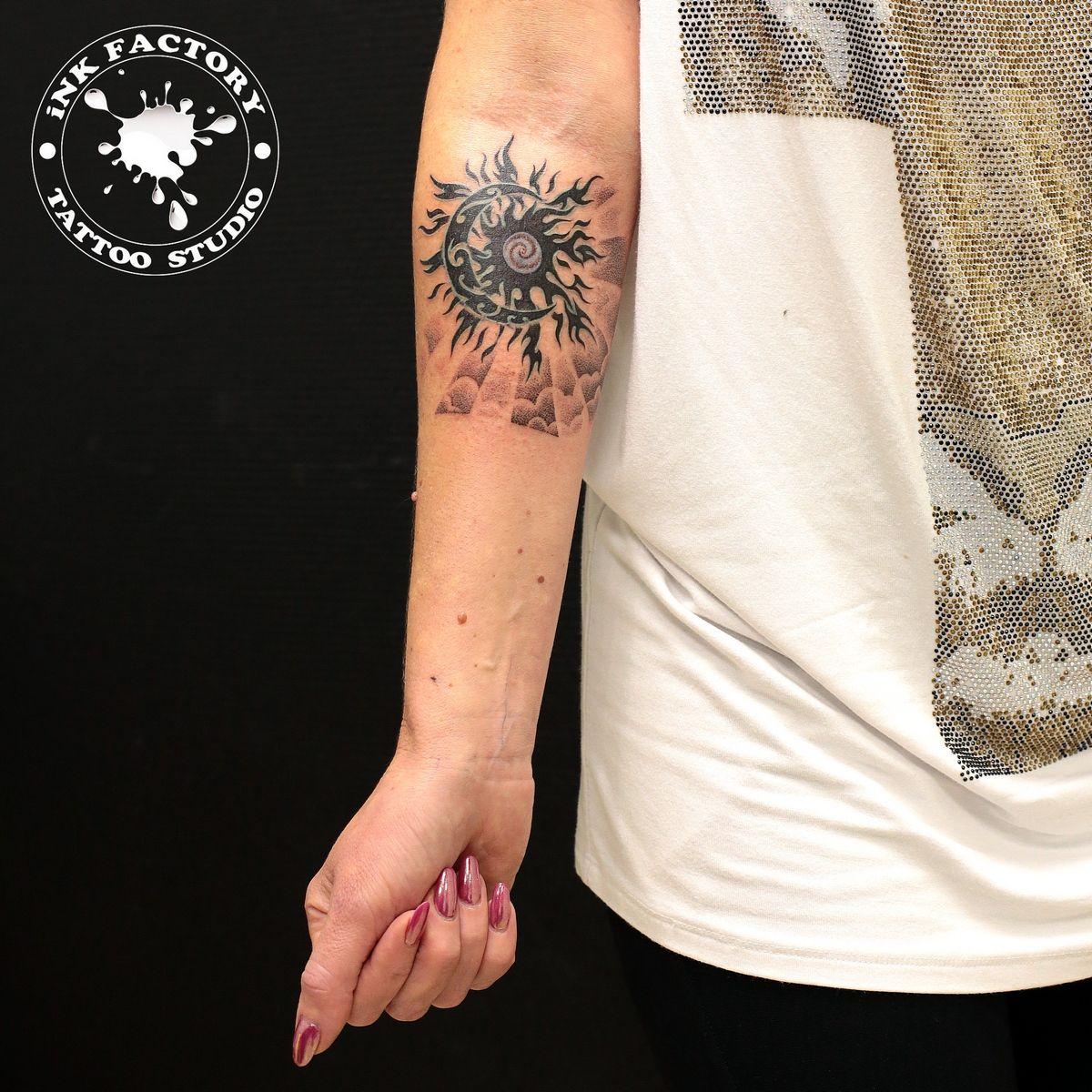 фото тату Простой тату в японском стиле 150