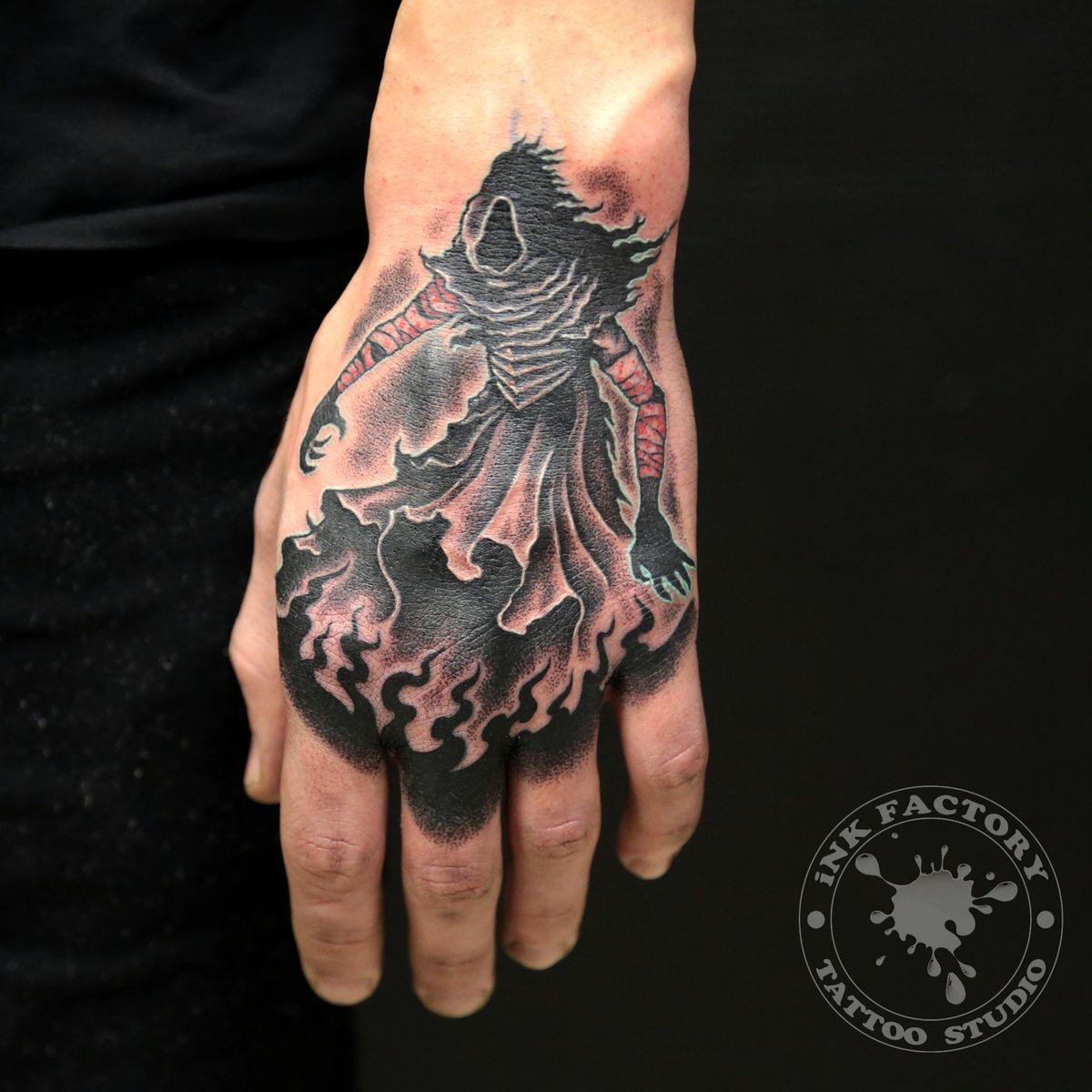 фото тату Скандинавский стиль в тату 626