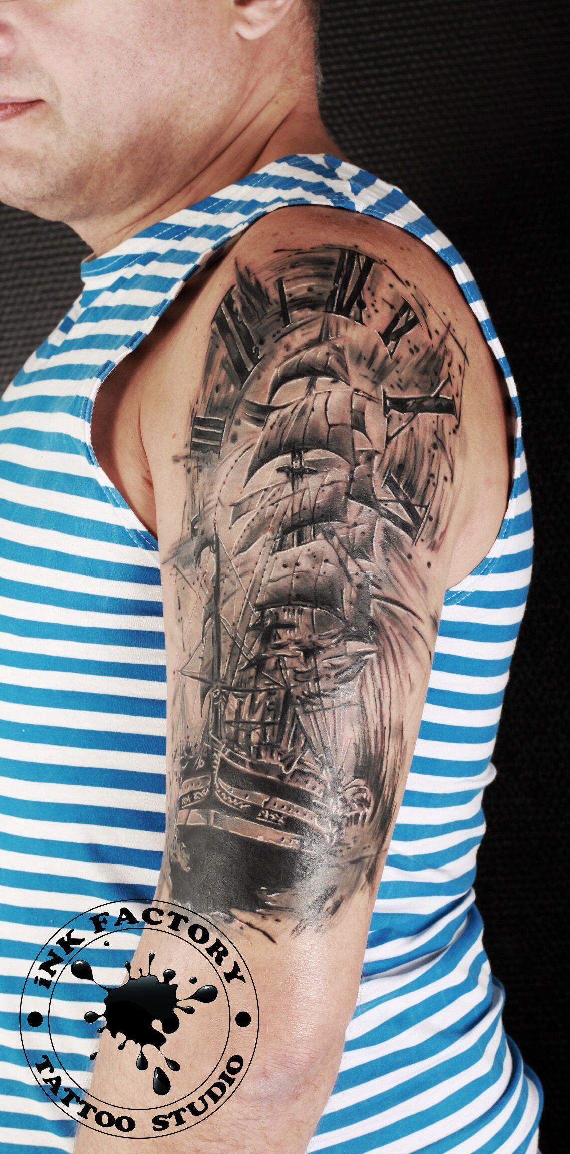фото тату Новое тату в стиле чикано 442