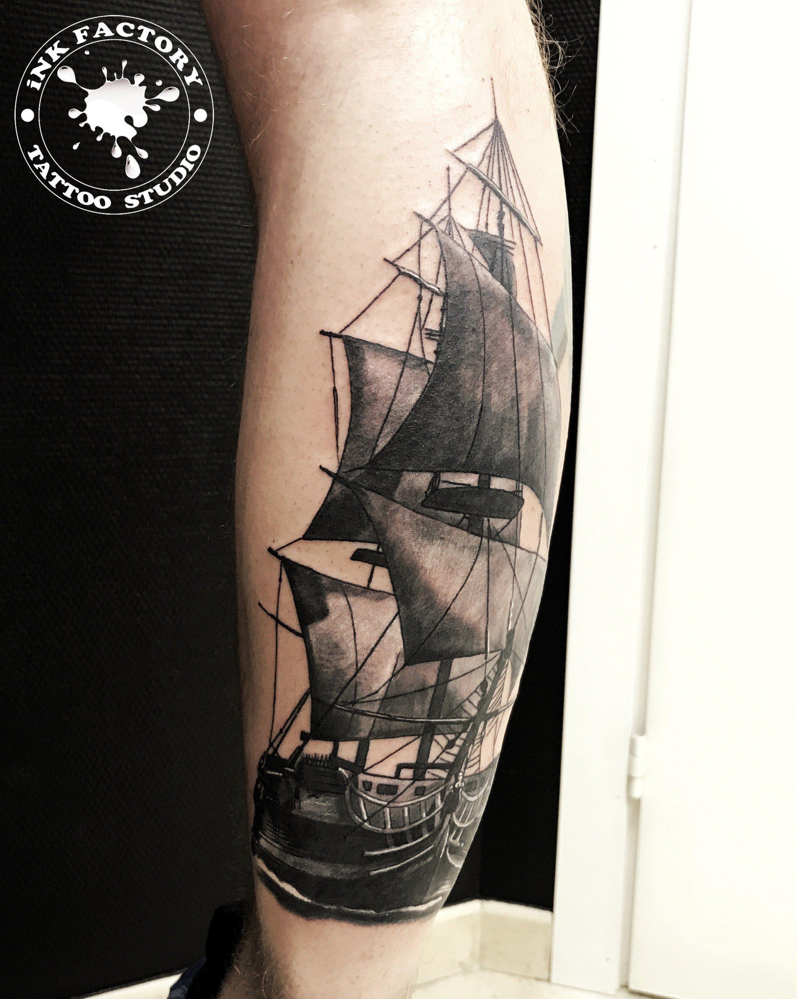 Корабль на икре