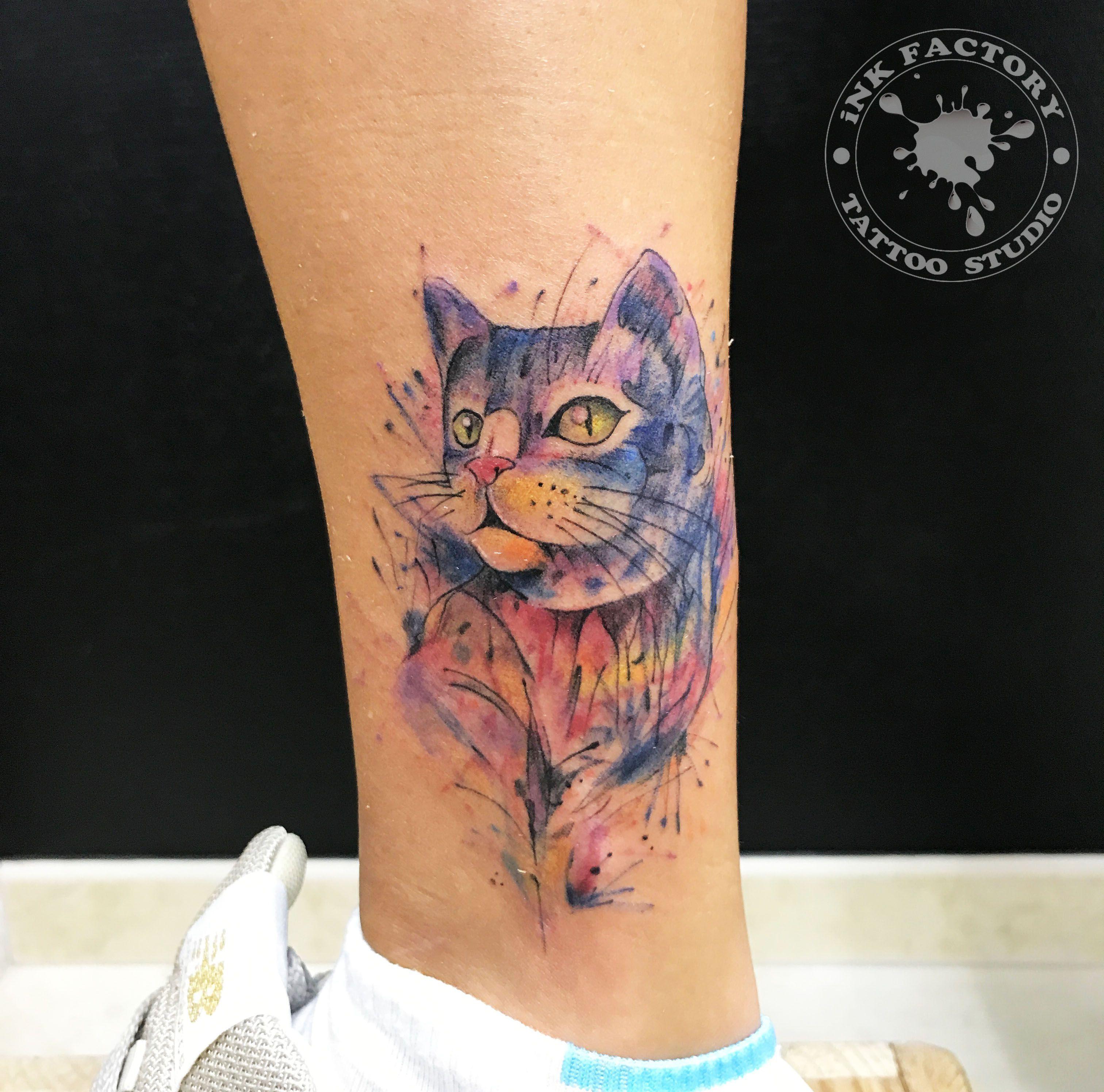 фото тату Волк в славянском стиле тату 285