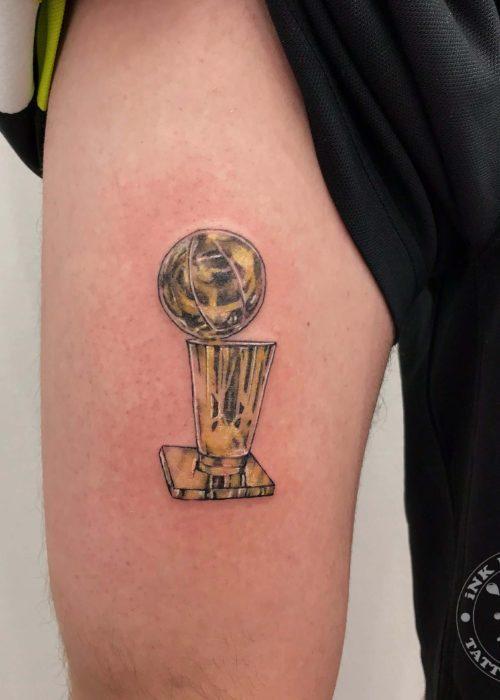 фото тату Кубок НБА