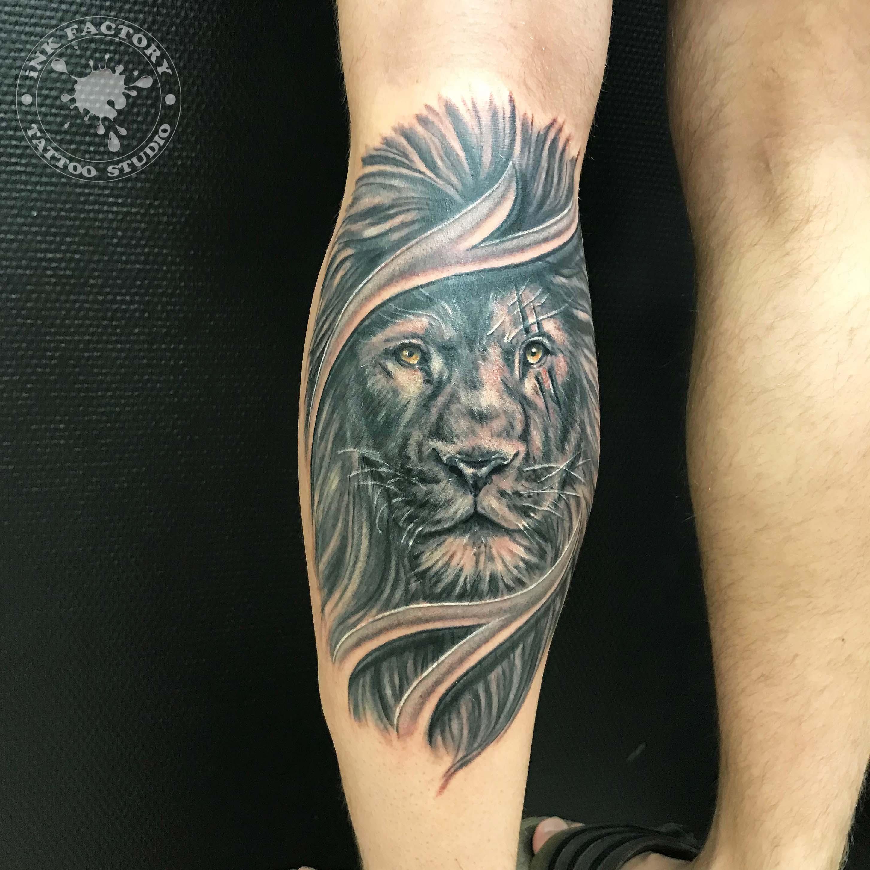 Лев со шрамом - сделано в InkFactory