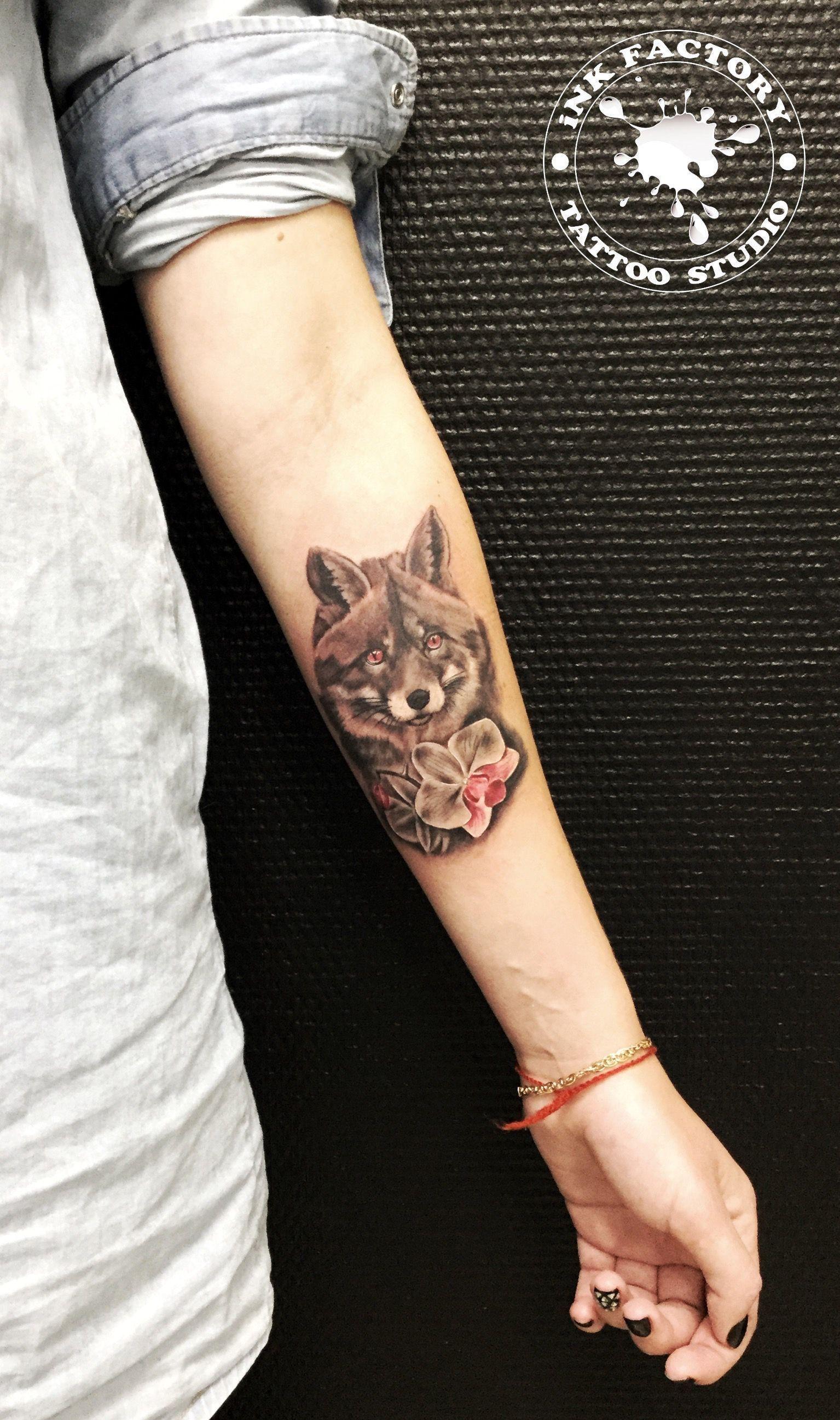 фото тату Сова в стиле стимпанк тату 204