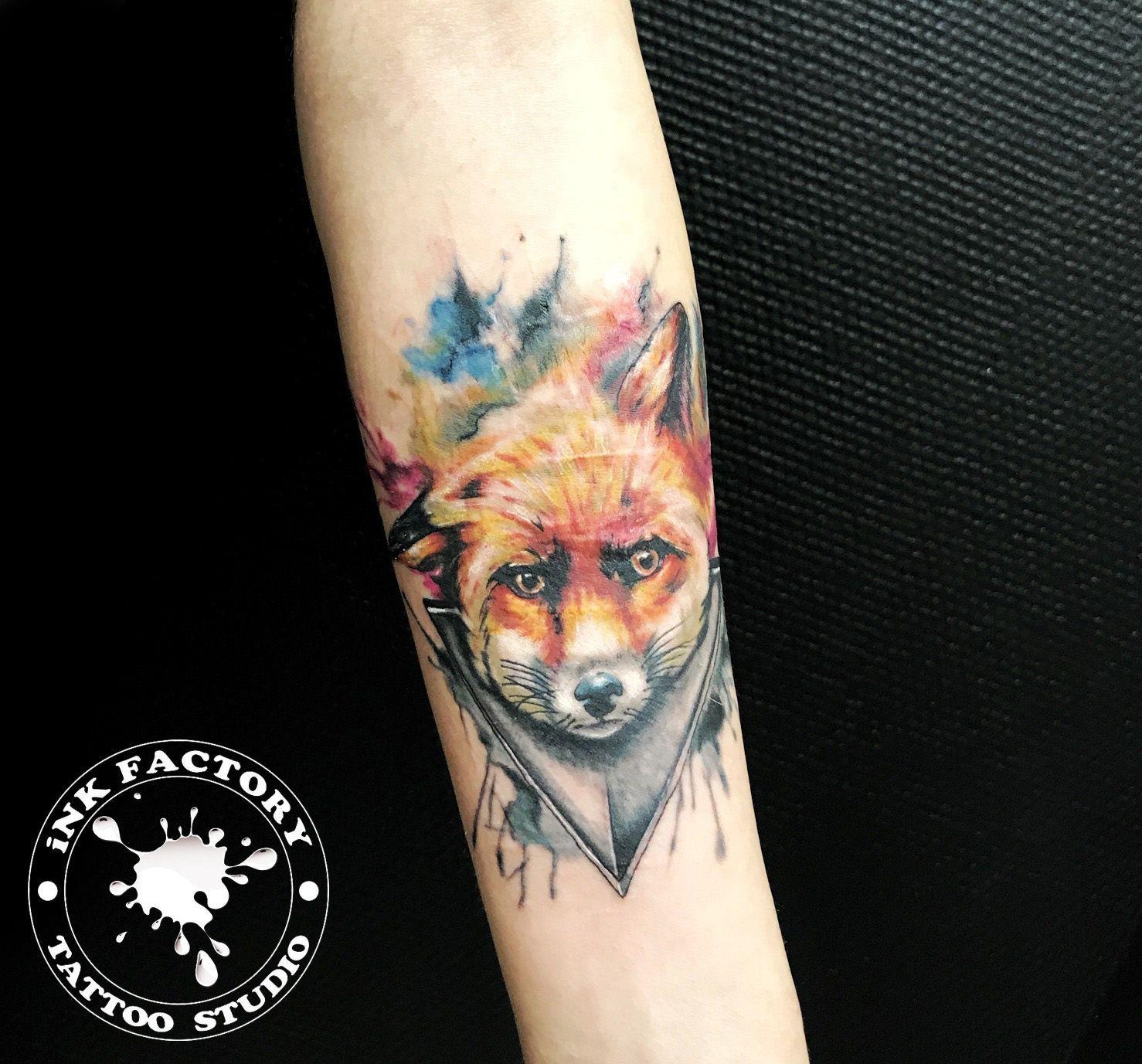 Милая лиса