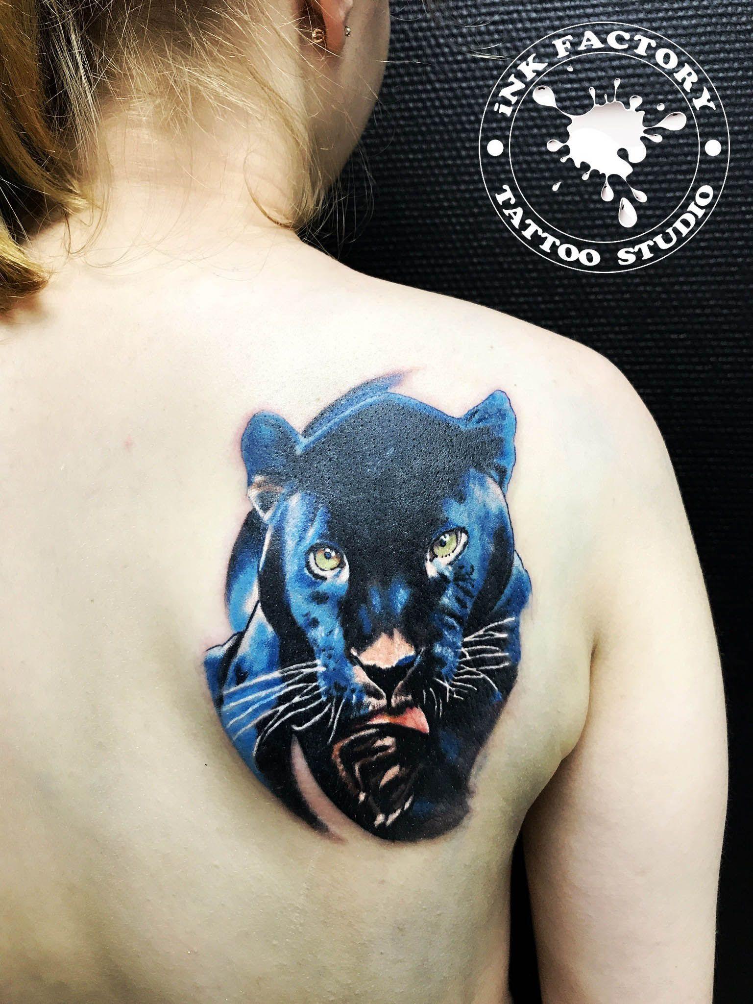 Пантера - сделано в InkFactory