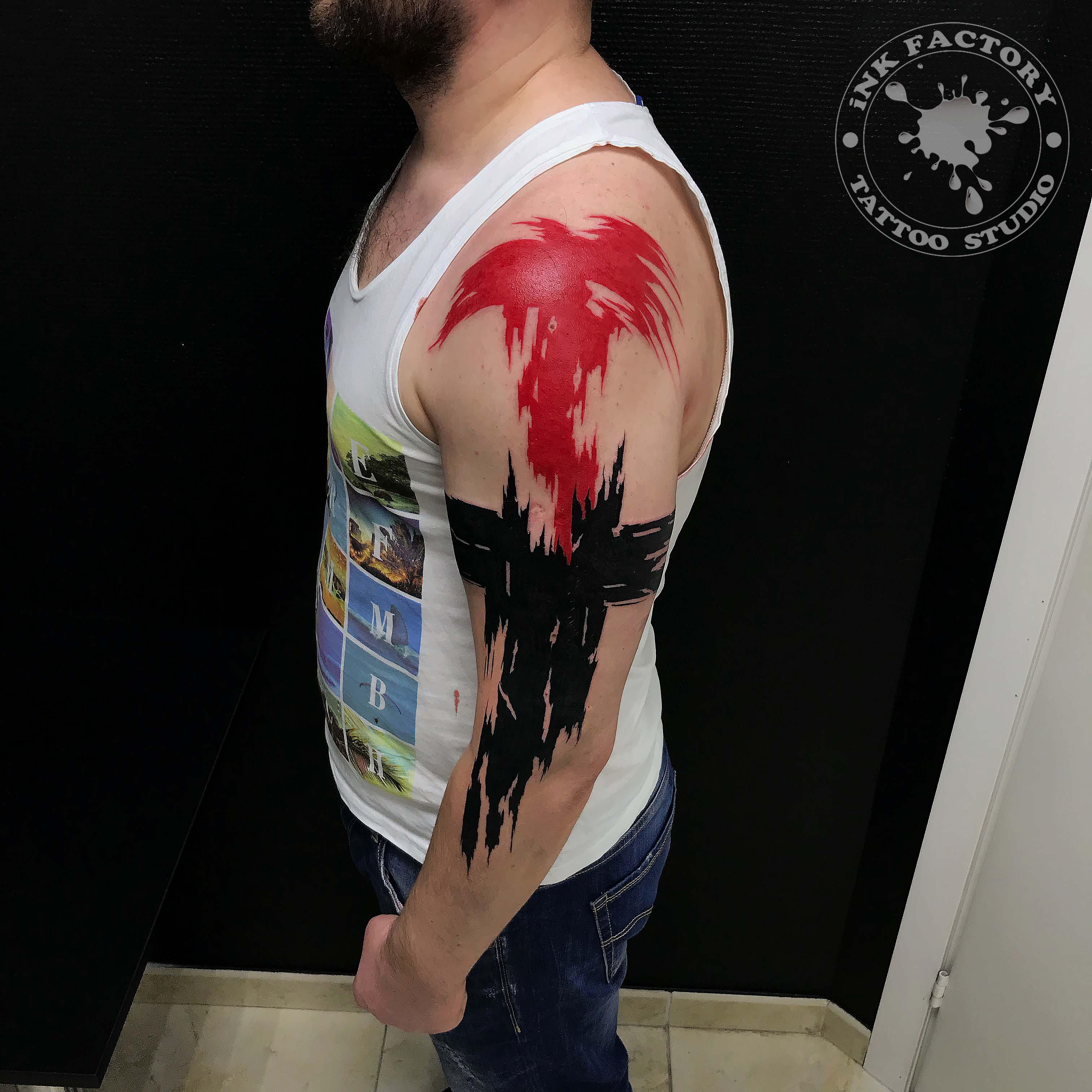 Полька на плече