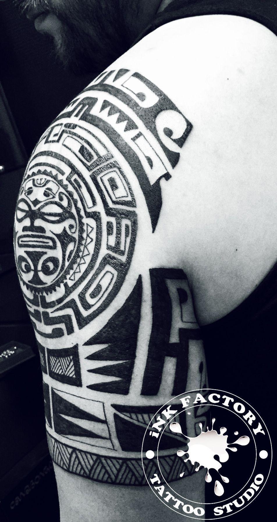 Полинезия в процессе - сделано в InkFactory