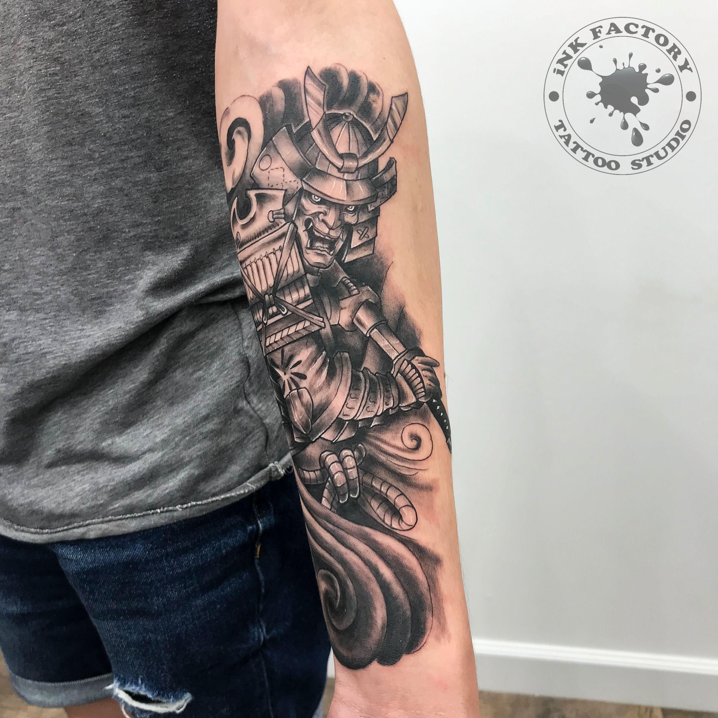 фото тату Простой тату в японском стиле 875