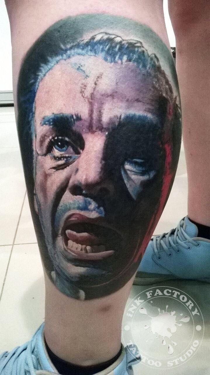 фото тату Сова в стиле стимпанк тату 377