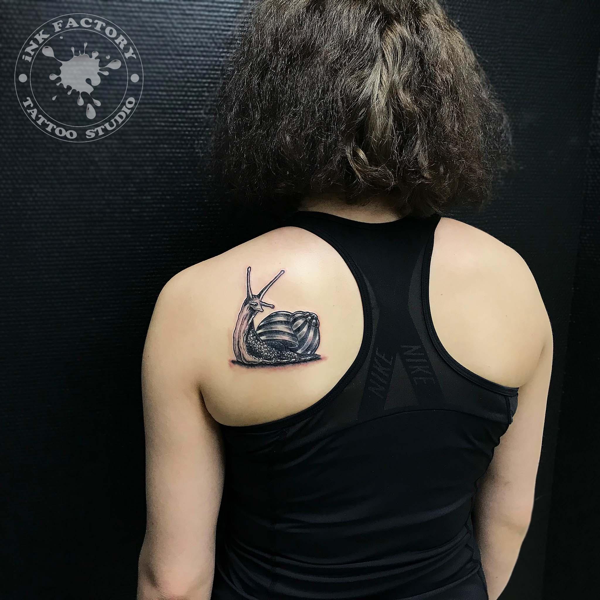 Улитка на плече
