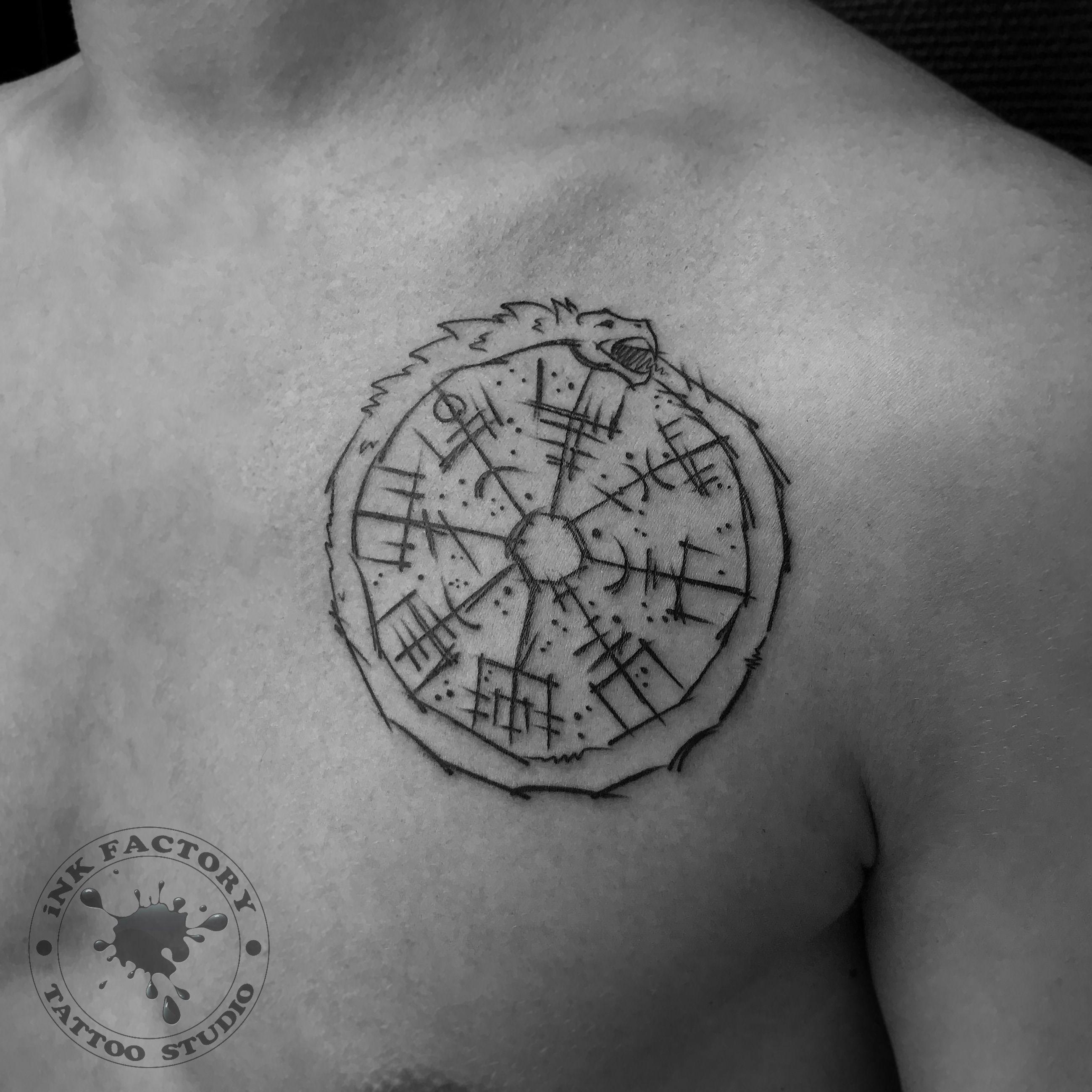 фото тату Эскиз тату в античном стиле 818