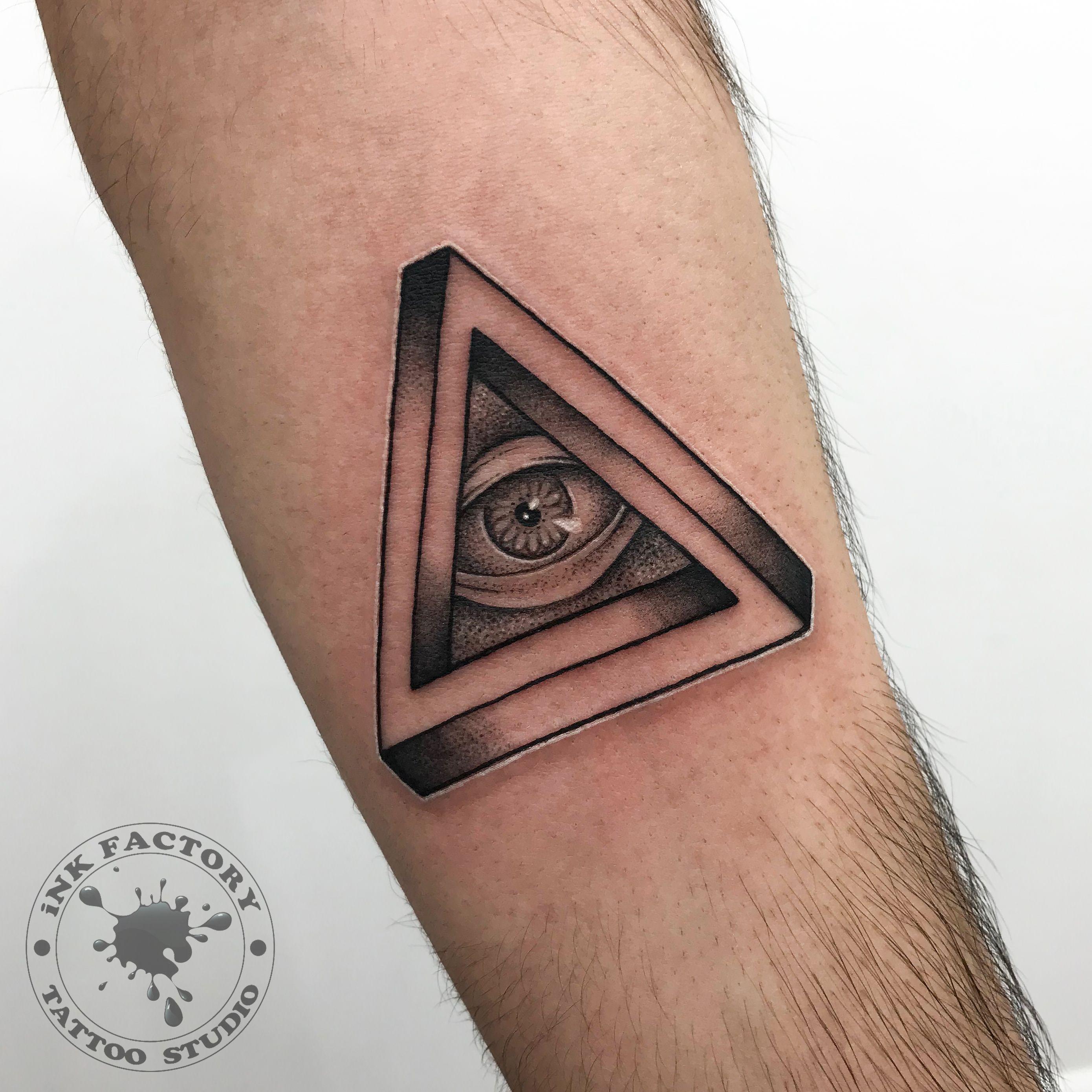 всевидящее око - сделано в InkFactory