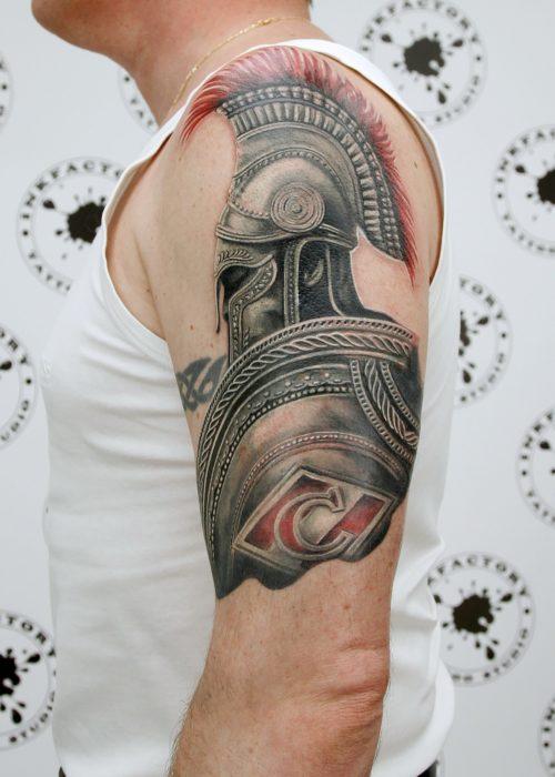 фото тату Для футбольного болельщика