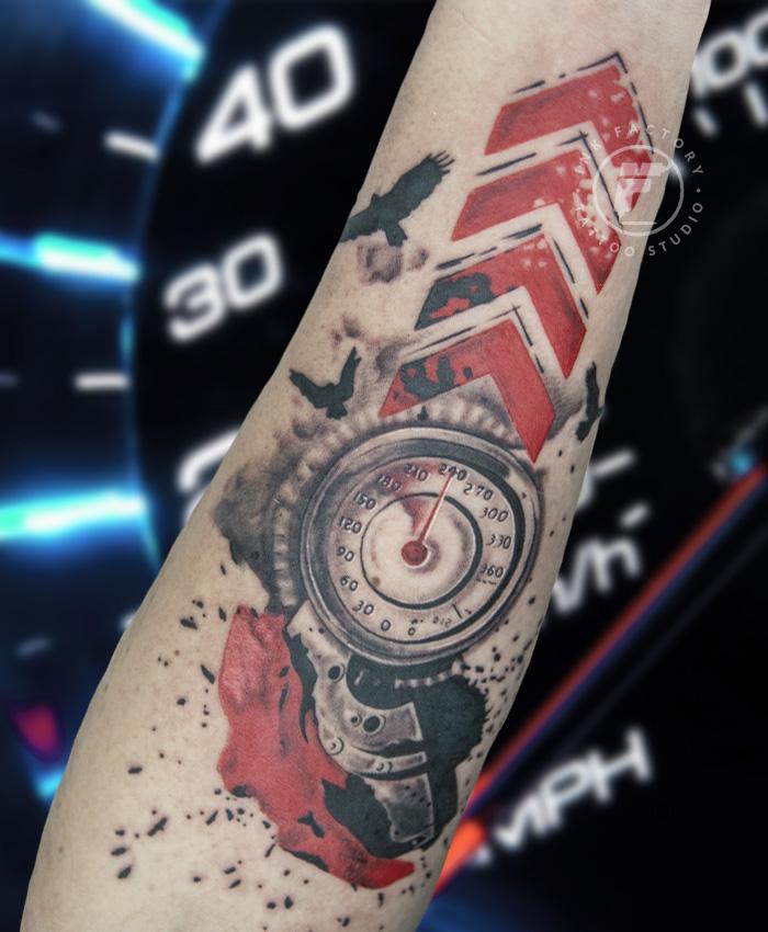 фото тату Жизнь в стиле тату 411