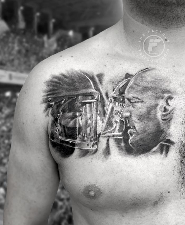 фото тату Сова в стиле стимпанк тату 228